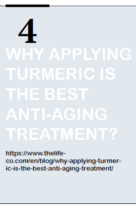 Why applying turmeric is best anti-aging treatment