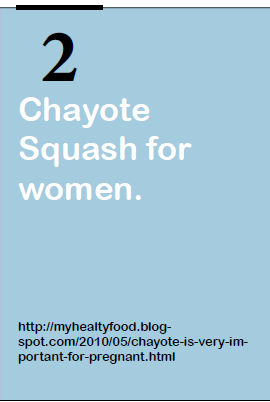 Chayote Squash for women
