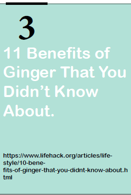 11 benefits of ginger that you did not know
